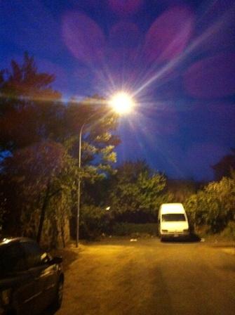 Via Montona, iniziati i lavori di illuminazione dell'ultimo tratto