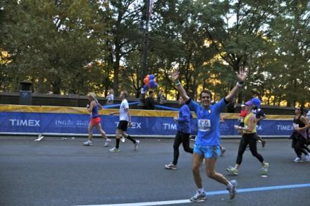 In cinque alla Maratona di New York