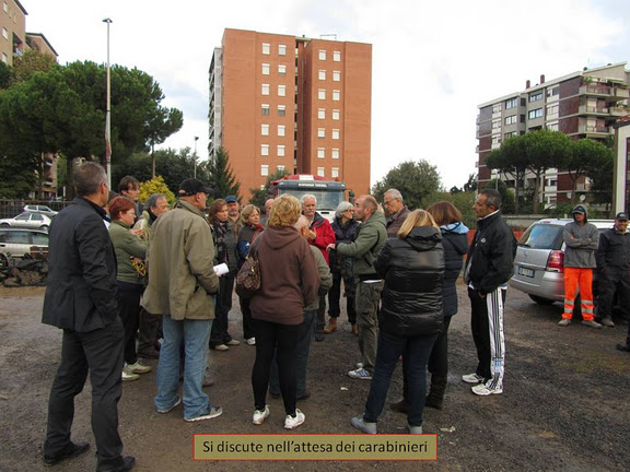 Parco Cisterna (Torrino), occupazione simbolica per la sua realizzazione