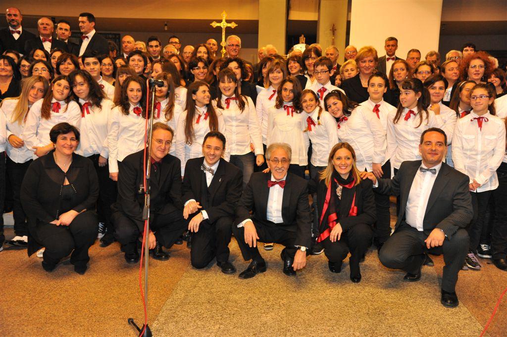 Concerto della Corale Centonote alla Sacra Famiglia di Centocelle