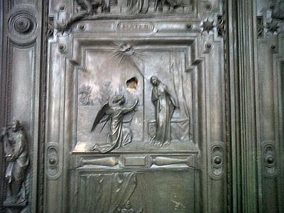 Danneggiata la porta di santa maria maggiore - Commissariato porta maggiore ...