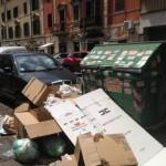 secchione spazzatura mancante quadraro