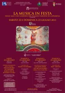 Musica in Festa 2013 Locandina