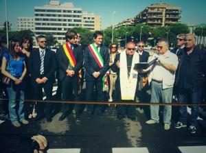 Inaugurazione strada Laurentino