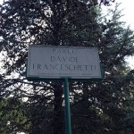 Targa Parco Franceschetti