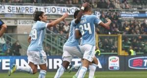 Esultanza gol Perea Lazio