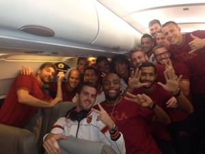 Roma in volo 9 vittorie