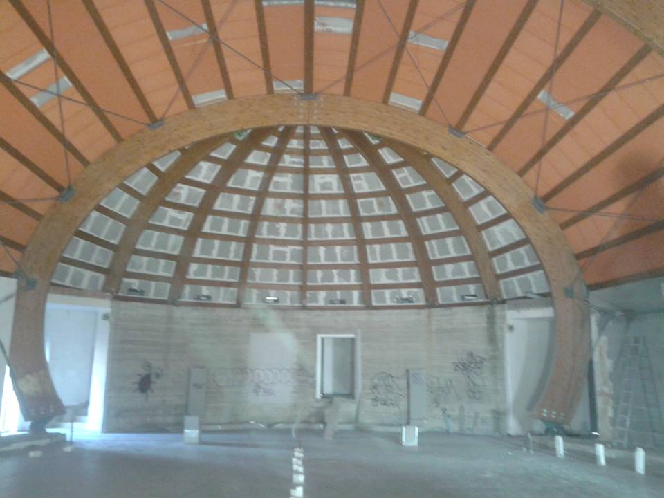 Auditorium Pineta Sacchetti interno