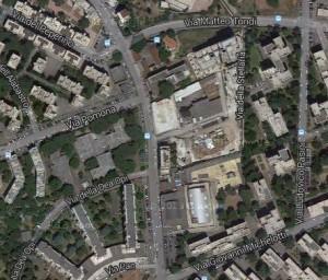 Cantiere mercato Pietralata satellite