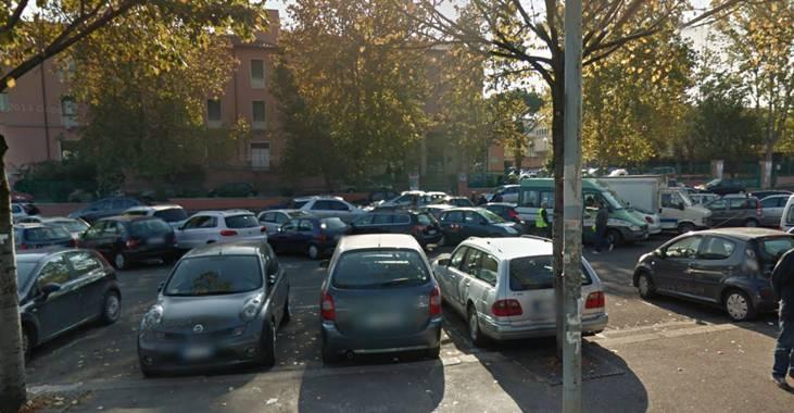 Parcheggio Fronte Municipio V Prenestina