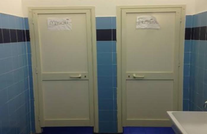 Alla scuola ferrante aporti bagni guasti da settembre - Nel bagno della scuola ...