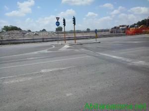 Sede Ford  - area dopo la demolizione-