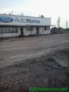 Sede Ford  - area prima della demolizione-