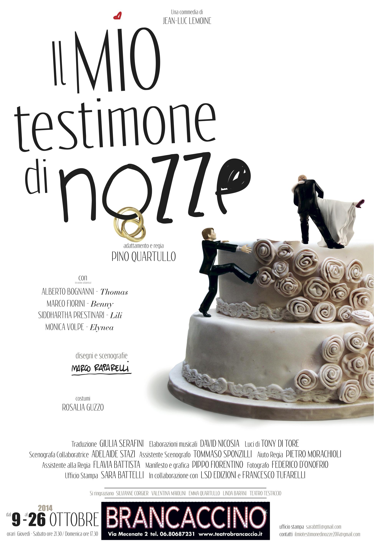 Auguri Matrimonio Da Testimone : Debutta a roma il mio testimone di nozze