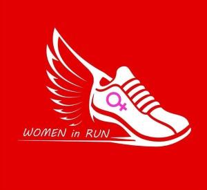 logo women in run