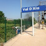 Val D ala sgombero stazione