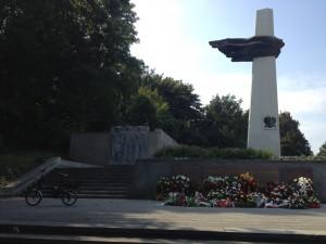 Monumento sovietico nel Parco di Friedrichshein