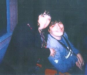 Andrea Guardabascio con la mamma Oriana