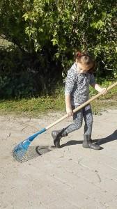 Parco Bonafede bimba pulizie