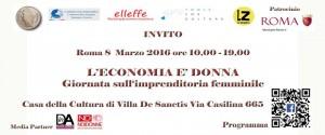 Invito 8 marzo