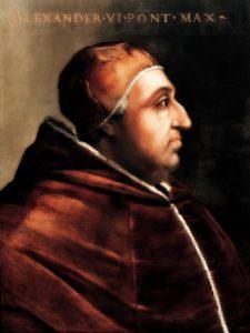 Alessandro VI - Cristofano dell'Altissimo - Galleria degli Uffizi