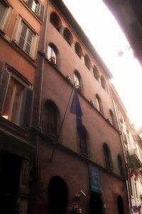 Il Palazzo del Burcardo in via del Sudario - Foto di Stefano Crivelli
