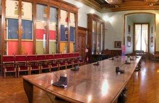 Sala Piccola Protomoteca : Campidoglio palazzo senatorio: domenica 31 luglio visita straordinaria