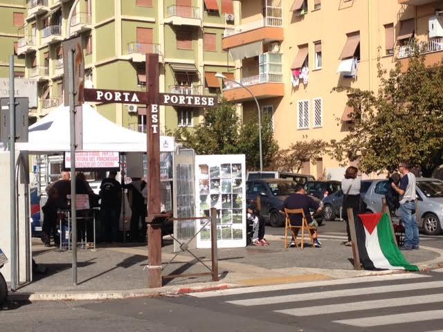 Manifestazione dell 39 ags porta portese per la riapertura - Porta portese lavoro pulizie ...