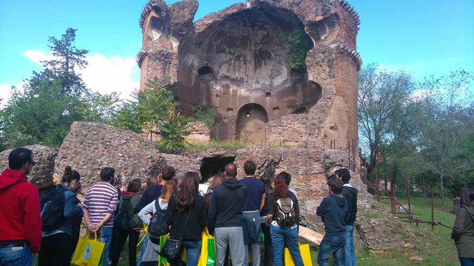 Pillola di OmoGirando: la Villa dei Gordiani