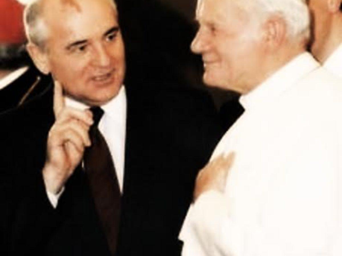 1° Dicembre 1989… Roma, il Papa incontra Gorbaciov