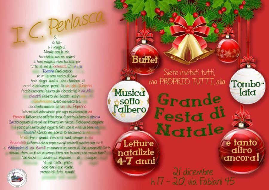 Immagini Feste Di Natale.Grande Festa Di Natale Al Bibliopoint Di Pietralata