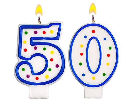 Très Nato nel 1967? Buon compleanno di 50 anni! Ecco come festeggiare AG89