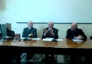 Da sinistra Coramusi, Zocconali, Ferrarotti, Polifrone