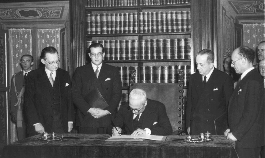 Costituzione for Repubblica italiana nascita