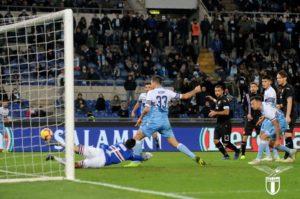 Lazio-Sampdoria 2-2