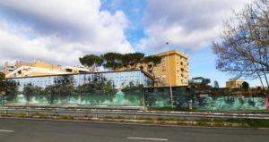 Murales Museo Casal de' Pazzi