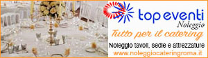 Tutto per il catering. Noleggio tavoli, sedie ed attrezzature