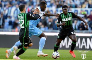 Lazio-Sassuolo 2-2