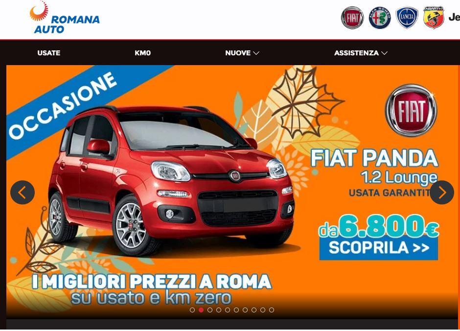 offerte romana auto