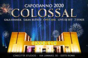 Cinecittà Capodanno Roma 2020