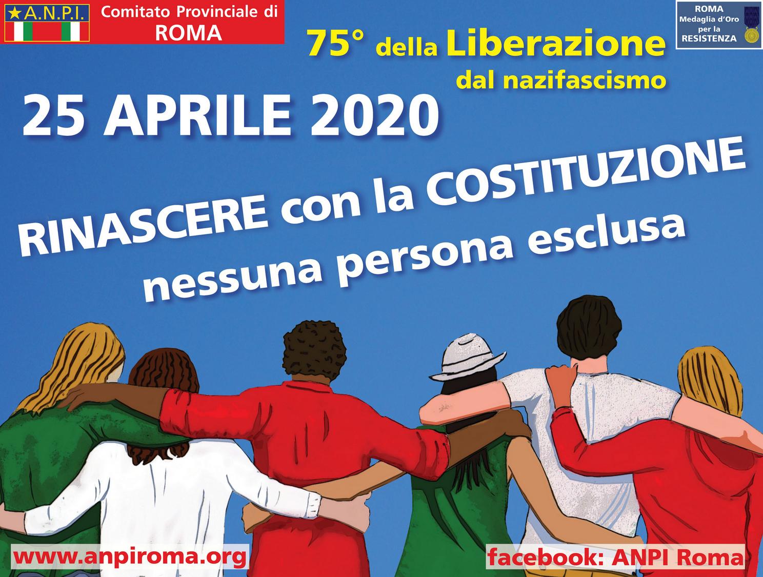 25 Aprile 2020, 75° anniversario della Liberazione d'Italia dal ...