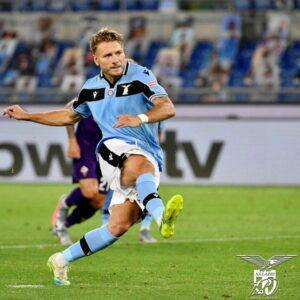 Lazio-Fiorentina 2-1 rigore Immobile