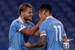 Lazio-Brescia 2-0 Immobile-Correa