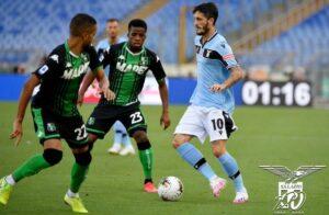 Lazio-Sassuolo 1-2