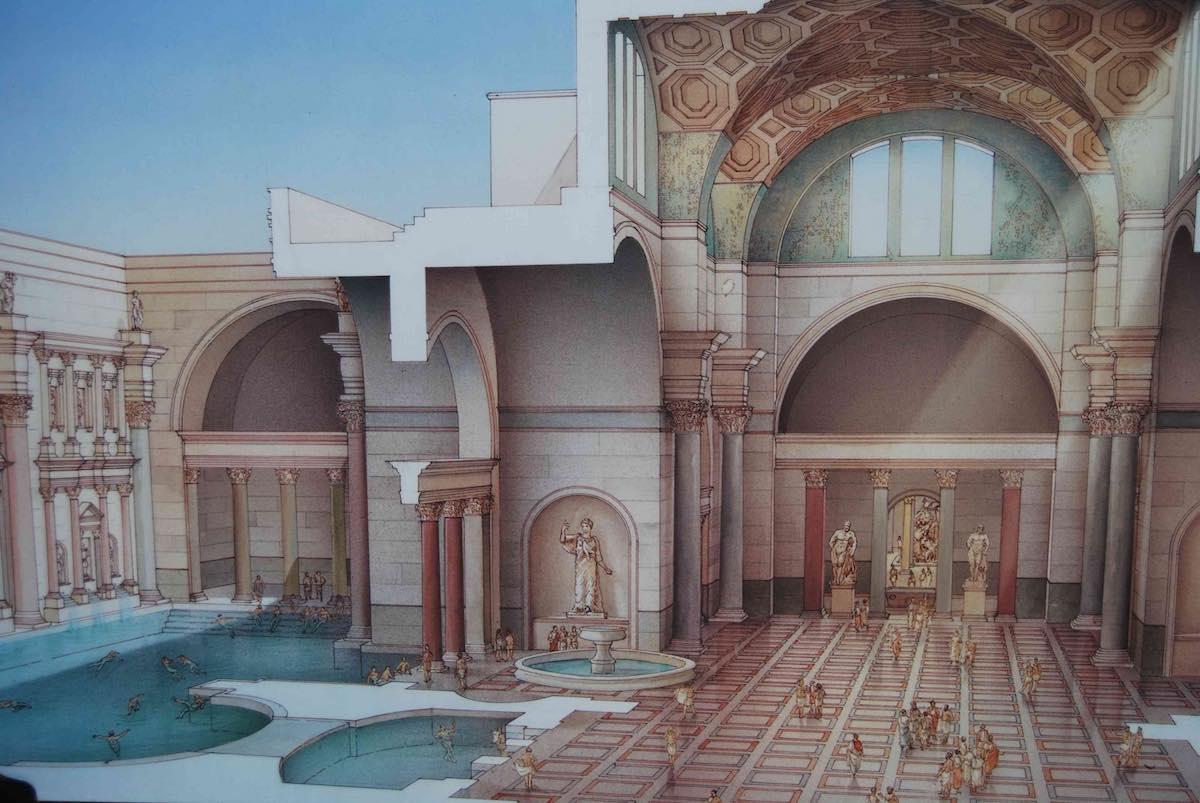 Bagni e terme nell'Antica Roma