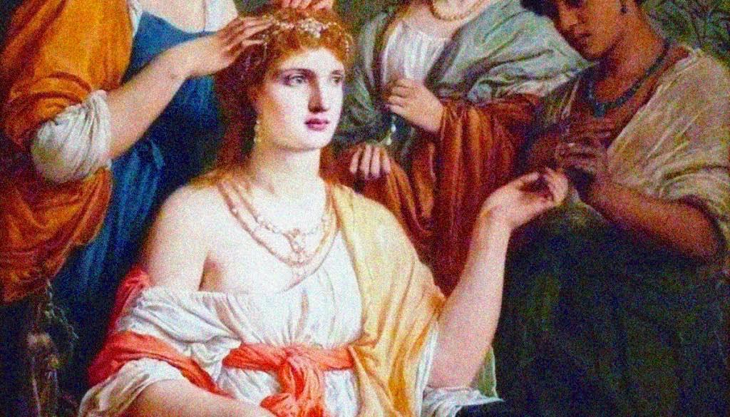 La cura dei capelli nell'antica Roma