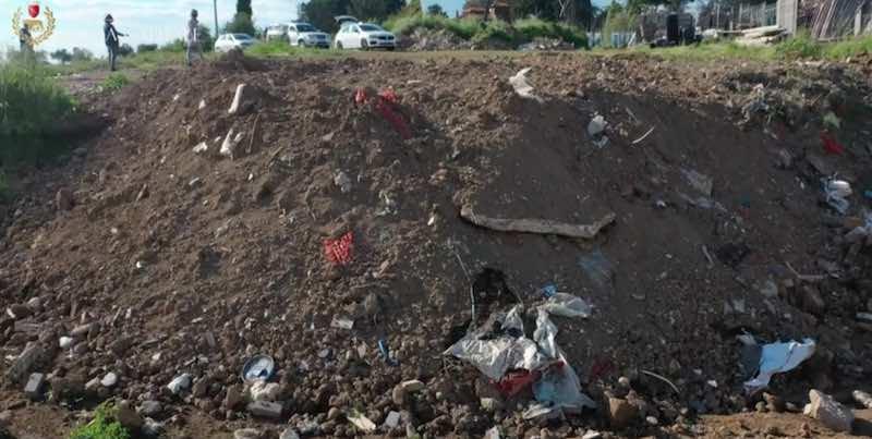 La Storta: rifiuti in cantiere sequestrato