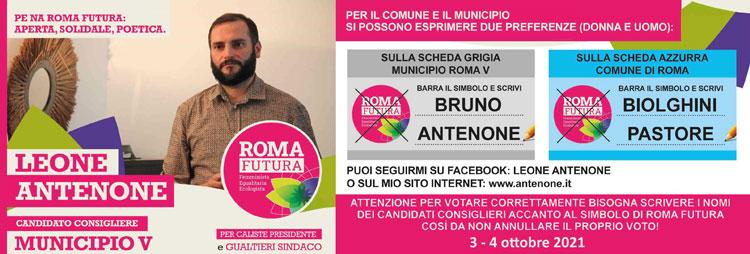 Pubblicità elettorale 2021 amministrative Roma