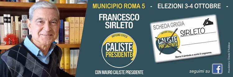 Francesco Sirleto V municipio