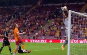 Galatasaray-Lazio 1-0